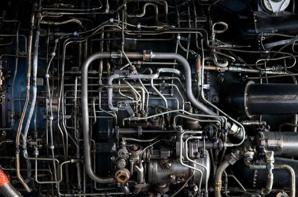 Blackbird Jet Engine by StuartAt