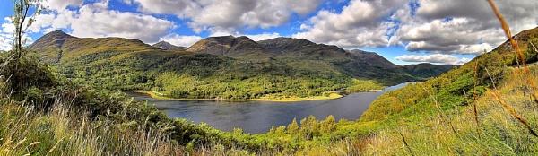 Loch Leven Panorama by YoBellzaa