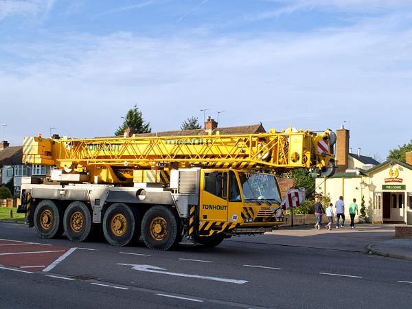 """01-09-12 \""""A crane.\"""" by Jestertheclown"""