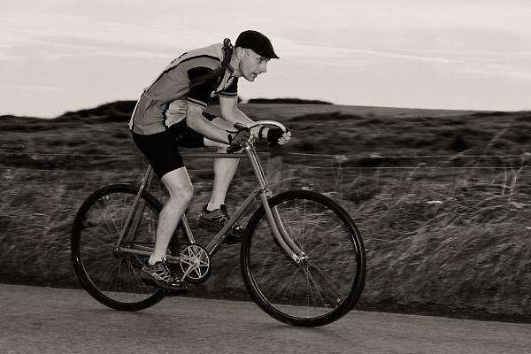 Cycling past by Martyn_U