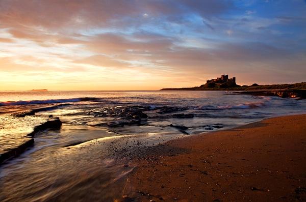 Bamburgh sunrise by Guy_Rogers