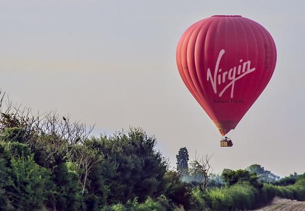 Balloon Flight by GordonLack