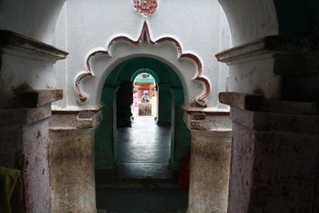 Inside the temple by PradyothChakraborty