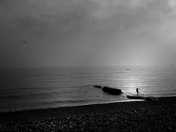 Stony Beach by Francois Lepinay