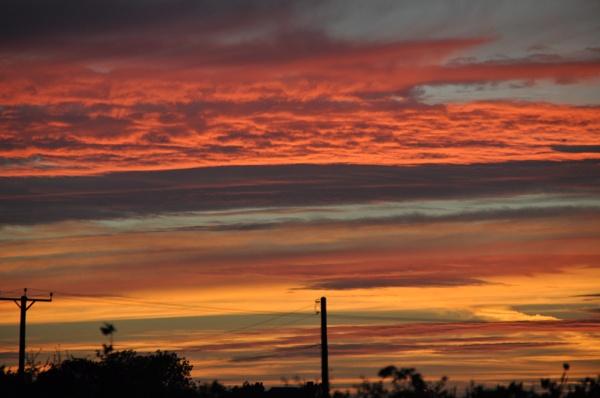 Blazing sky by Bryan_Marshall