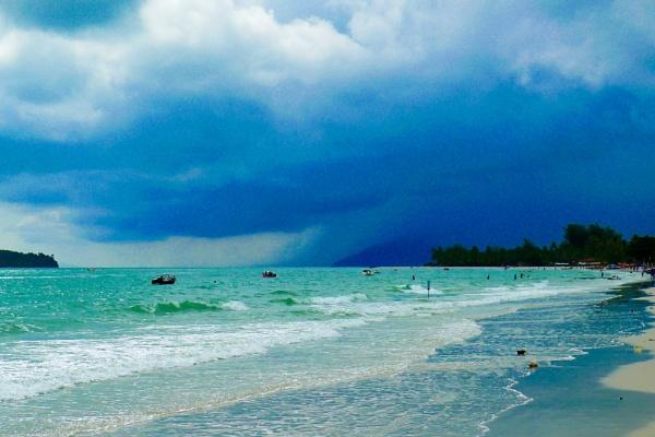 Langkawi Beach II by Swarnadip