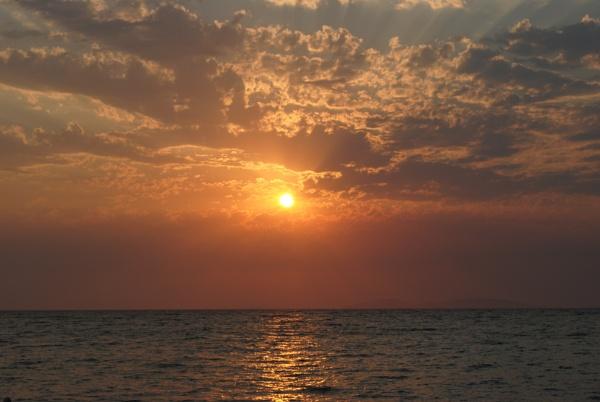 Darker Sky on fire by elainebaker