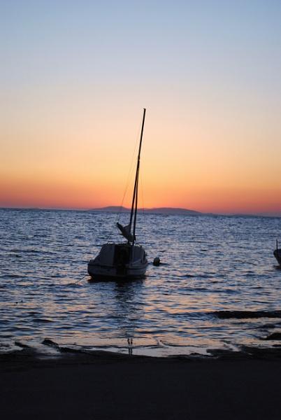 Lone Boat by elainebaker