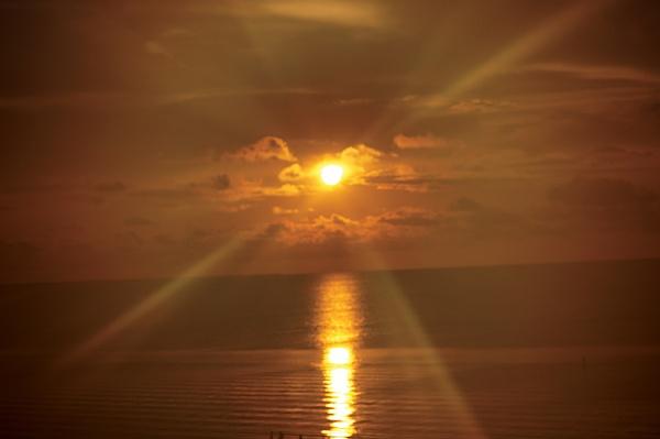 Sunset Key Largo by TedBraid