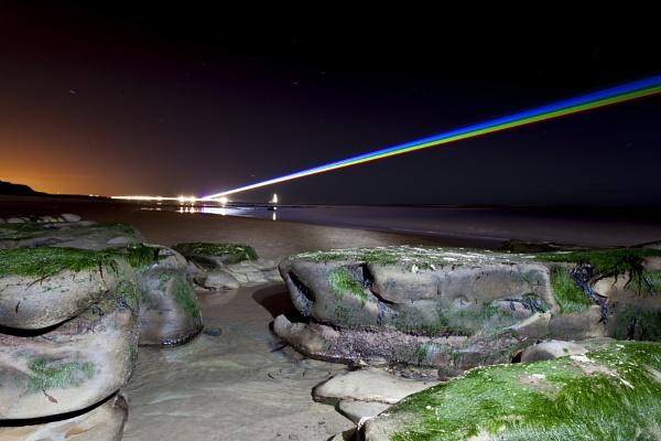 Laser Rainbow by Bevlad