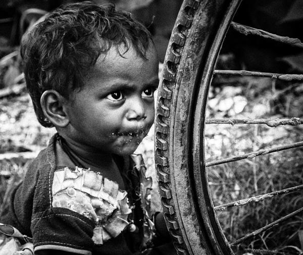 The Solitary Child by ujjalhalder