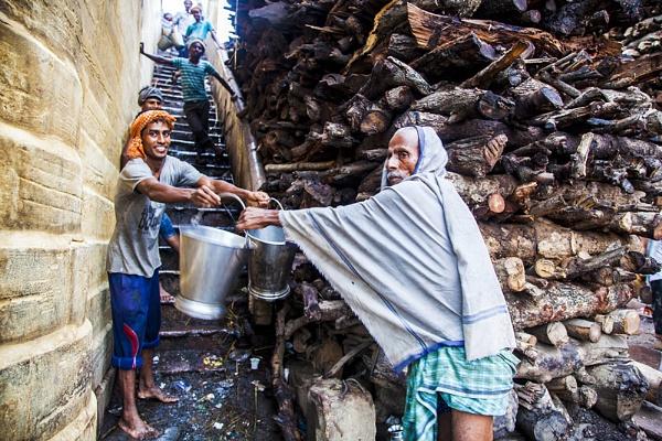 Lending a hand by ujjalhalder