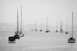 Yachts In The Rain