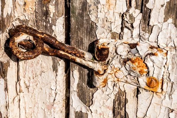 Old Latch by JJGEE