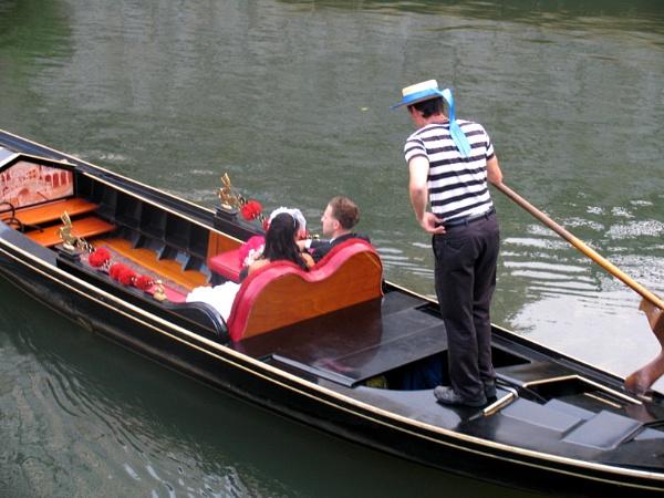 ~ The Wedding Gondola by LexEquine