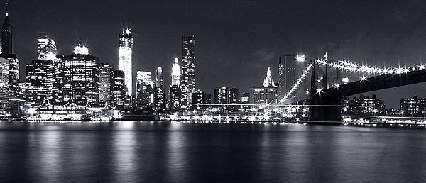brooklyn Bridge and the NY skyline by guitarman74uk