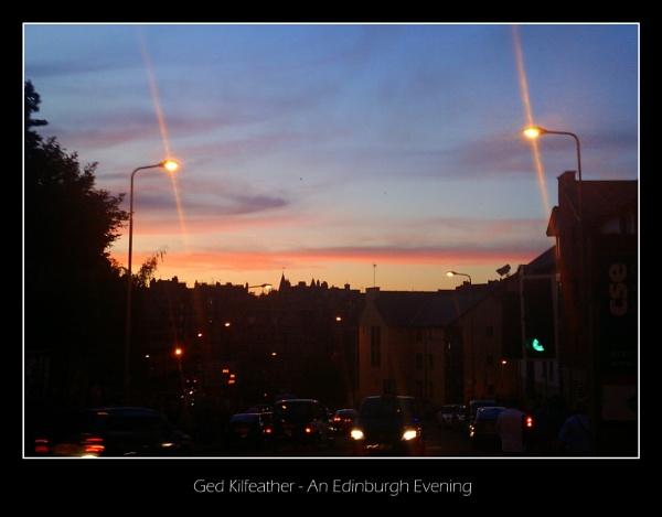 Edinburgh Evening in August by GedK