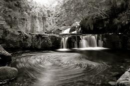 Garell Glen Waterfall,Kilsyth,Scotland