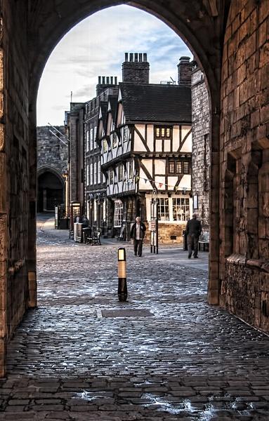 Cobbled Streets by GordonLack