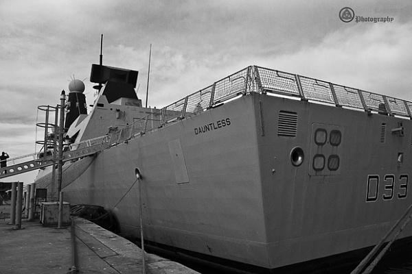 HMS Dauntless by Phillb