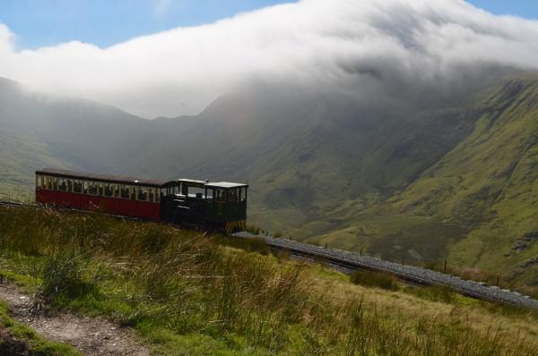 Snowdon Railway by hammers3417