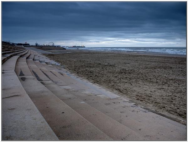 Blackpool Beach by danieltrude