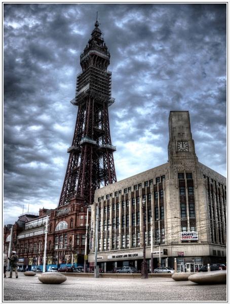 Blackpool Tower by danieltrude