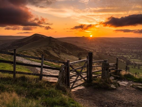 Back Tor Sunrise by Stephen_w3d