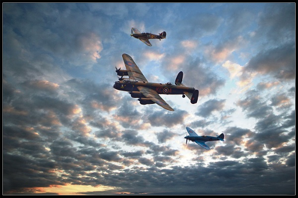 Battle of Britain by Philpot