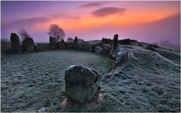 Ballymacdermot Court Tomb by Leslie-Hanthorne