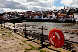 A view in Whitby-Another buoy