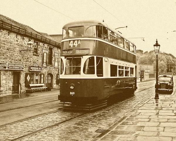 Liverpool Tram Early 1950s by peterkin