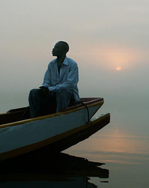Daybreak in Gambia by Tillynwilf