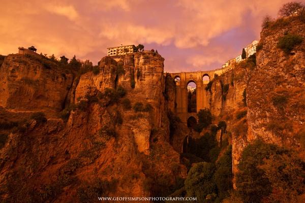 Tajo Bridge, Ronda by AndalucianPhotoAdventures