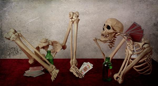 Boozing and Gambling...... by cattyal