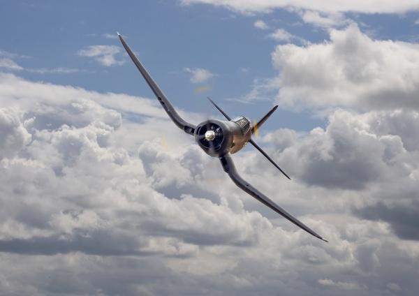 Corsair F4U-N by patspeirs