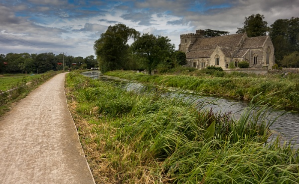 stonehouse canal and church 2 by petemasty