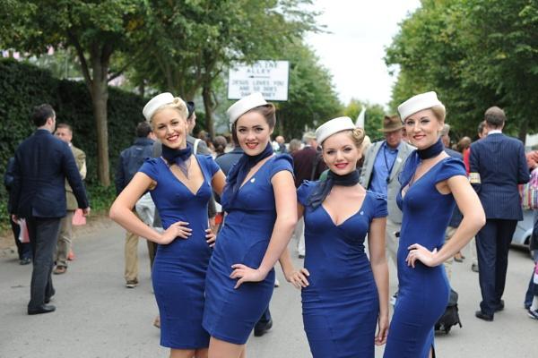 Goodwood Revival Girls by ericcarpenter