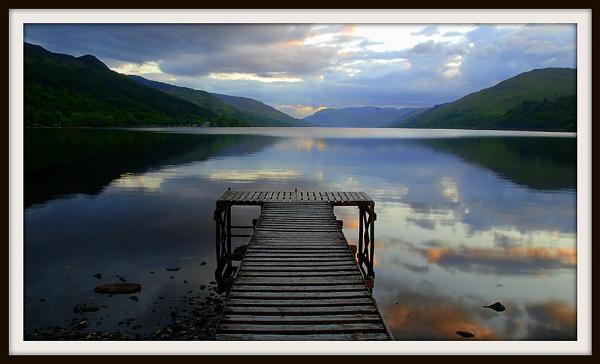 Loch Earn Sunset by jasonrwl