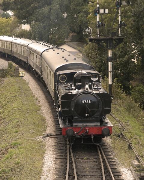 GWR Pannier Tank on the South Devon Railway by Newdevonian