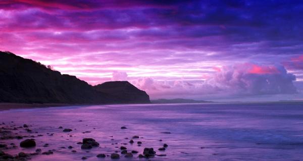 sunrise by lesvictor