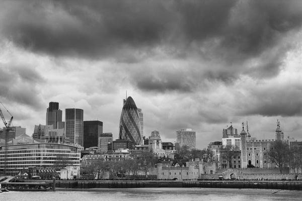 London Skyline by Bevy
