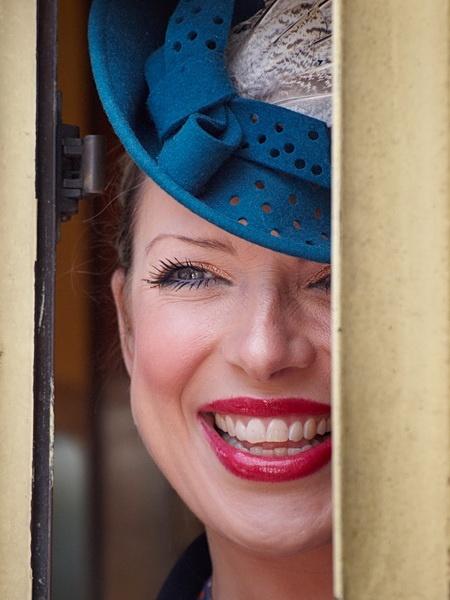 Girl In The Carridge Window by Craftysnapper