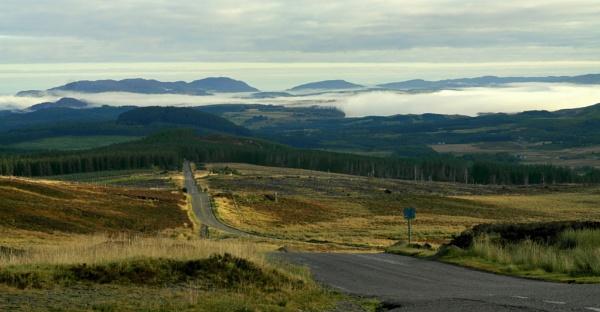 Great Glen in the morning by warbstowcross