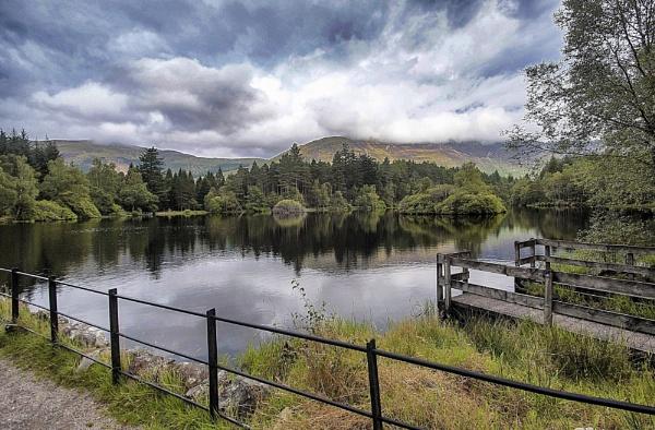 Glencoe Lochan by YoBellzaa