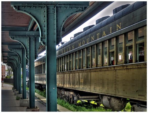 Old Train by bearmtn
