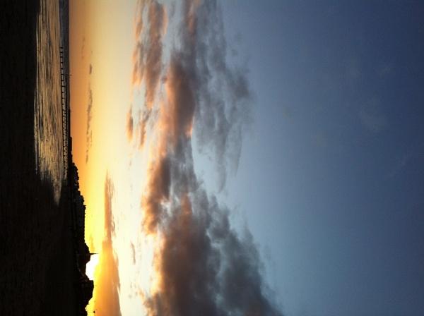 Sunset by groovypinkchick