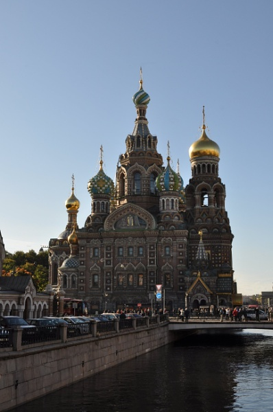 Cathedral of Spilled Blood, St Petersburg by MoragM