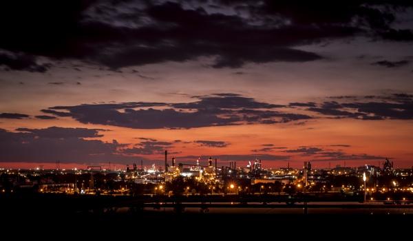 Industrial Sunset by mswiech