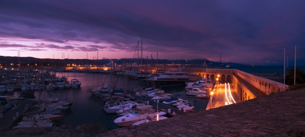 Port of Antibes Cote D Azur by jimhellier